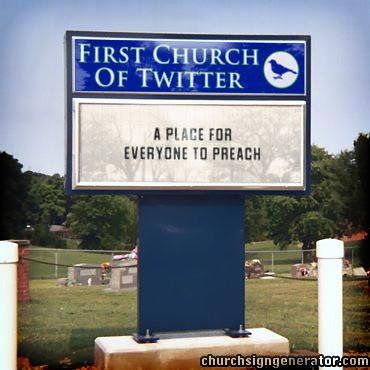 Primeira Igreja do Twitter