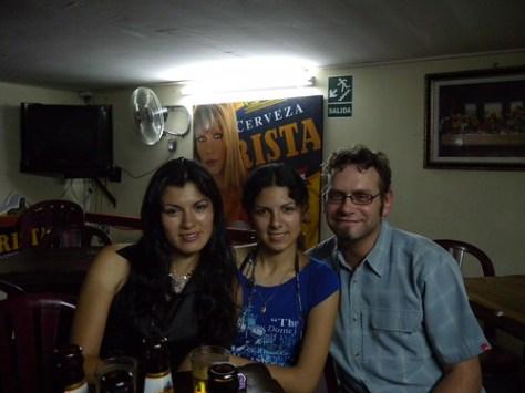 Mercedes, Julia, and i.