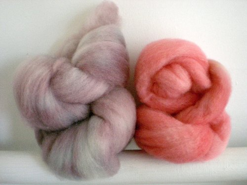bfl wool dyed with kool aid