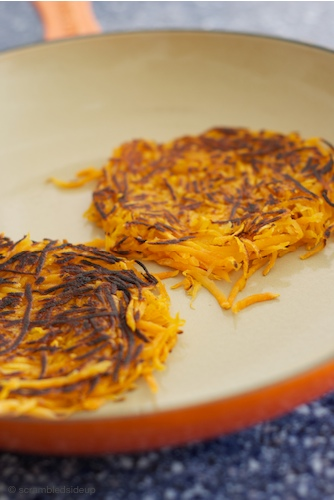 Sweet Potato Hash Brown