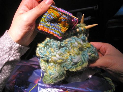 Knitting in Transit