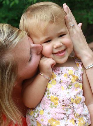 Sisarea & her Mommy, Deborah