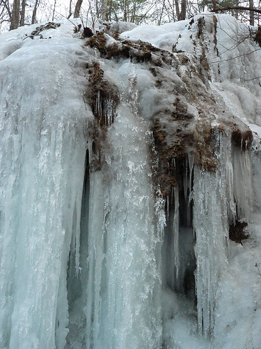 Falls Ridge - Closeup of Ice