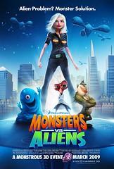 Monsters Vs Aliens Poster