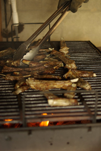 grilling lamb riblets