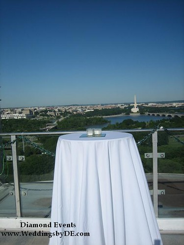 View of DC from Top of the Town patio