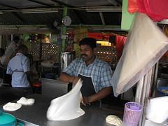 Roti Canai Maker / Malaysia, Kuala Lumpur