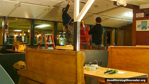 Electricians Work To Get Woodmans Ready For Reopening After Filming Adam Sandler Movie Grown Ups