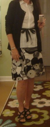 My B&W Skirt