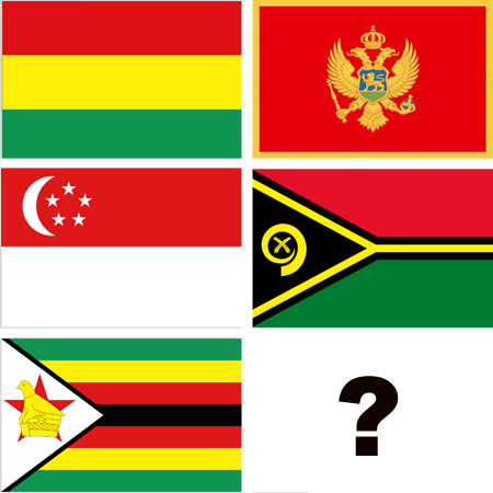 Do you know which flag is which? :)