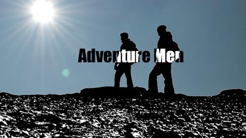 Adventure Men - Title Logo