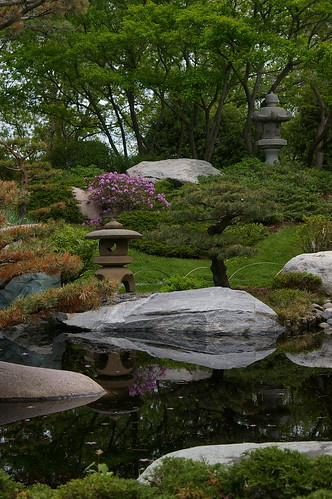 Japanese Garden at Como Conservatory II by jkbeitz