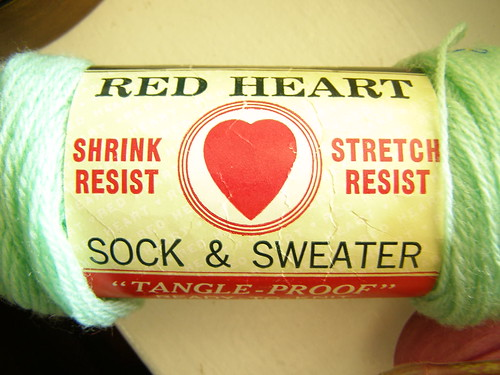 chadwick's red heart sock and sweater