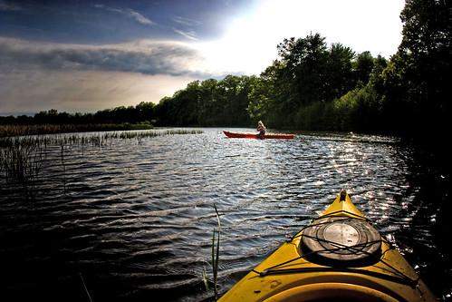 Photo Kayaking on Pigeon River