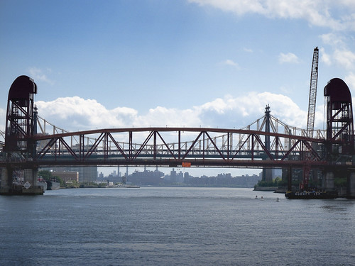 Roosevelt Island Bridge with Queensboro by you.
