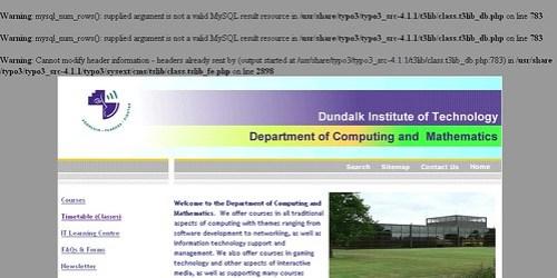 DKIT dcam errors