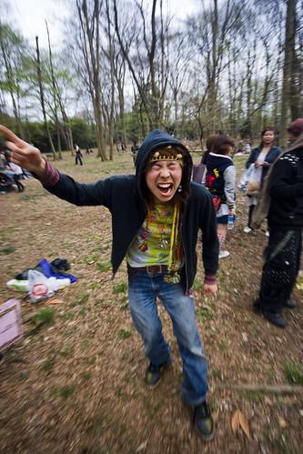 Yusaku-san! He asked me to call him You Suck!