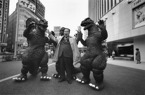 IT Godzillas: Trying to eat a fat old Japanese Man for no good reason.....