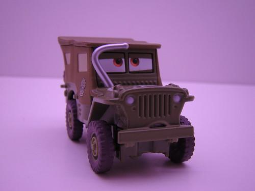 CARS Salutin Sarge