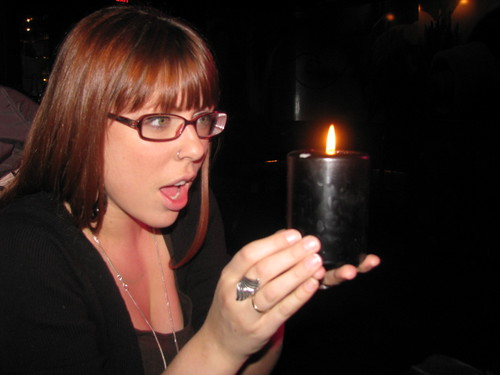 "oh look a black candle at tattoo ""rock"" parlour how totally err, expected?"