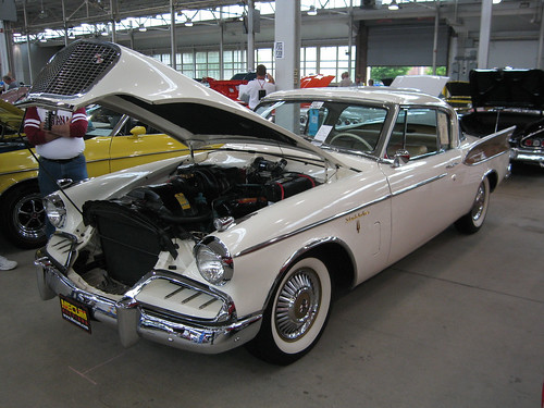 1957 Studebaker Golden Hawk a