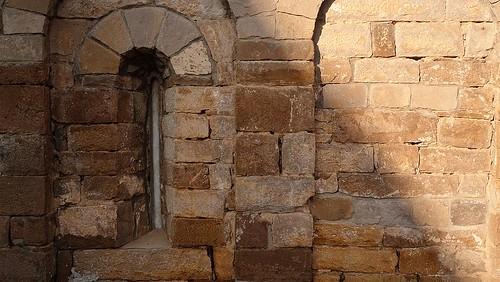 San Pedro de Lárrede - detalle del ábside