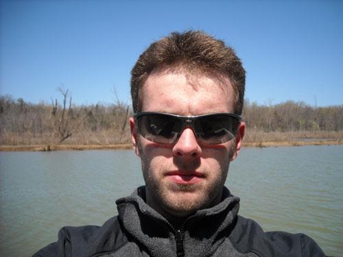 My son,  Daniel.  Self Potrait.