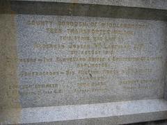 Middlesbrough Transporter Bridge Foundation Stone
