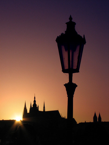 Prague sunset by you.