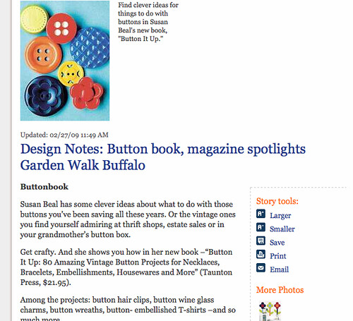Button It Up review in the Buffalo News