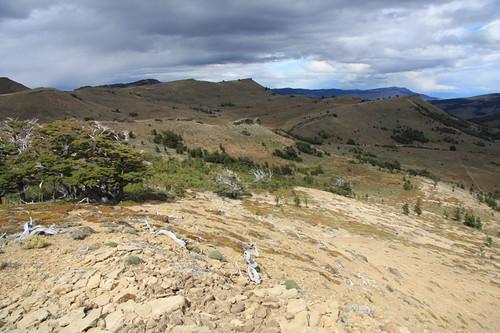 Looking north to Sierra Dorotea (© 2009 clasticdetritus.com)