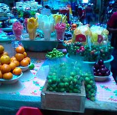 Frutas de estación, Oaxaca. Abril 2009