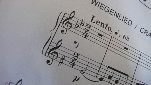 From Béla Bartók's 44 Duos for two violins No. 11 (Universal Edition)
