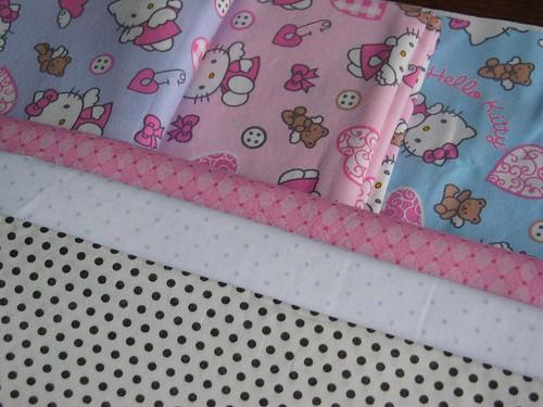 Hello Kitty Quilt Fabrics