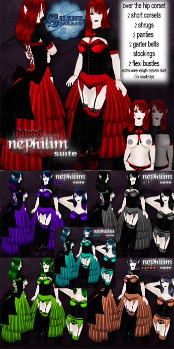 New Nephilim suite from ~silentsparrow~