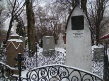 Anton Chekhovs Grave by Perosha