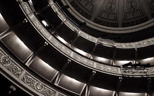 Palcos del teatro Apollo, Patras, Grecia