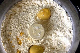 egg yolk shortcake dough
