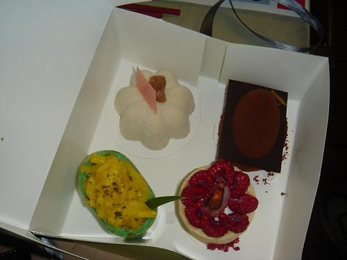 Yauatcha cake