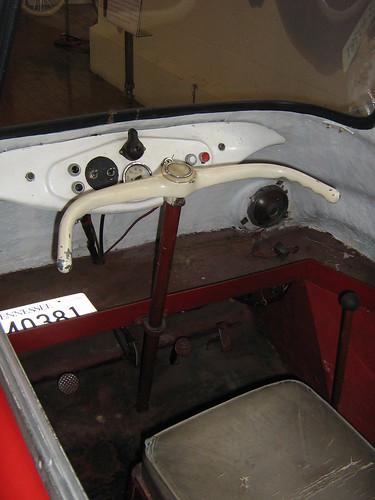 1959 Scootacar Steering Wheel