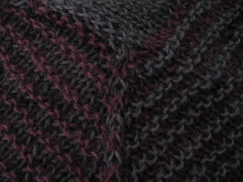 Shades of Purple Shawl by the Nerdy Knitter a.k.a. Procrastinator