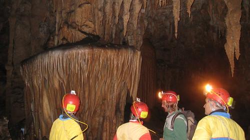 Impressive cave decor