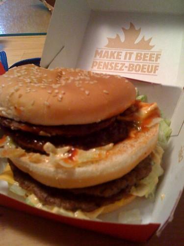 Double Big Mac in Canada