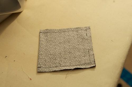 Sewn pocket piece