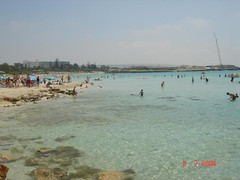 The crystal clear beaches of Agia Napa (Αγία Νάπα)