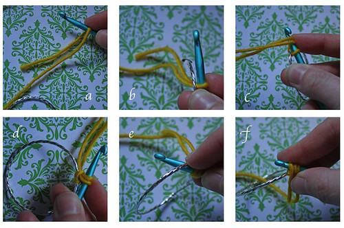 Crocheting A Hoop Earring