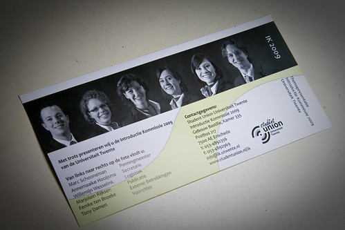 UT IK 2009 uitnodiging