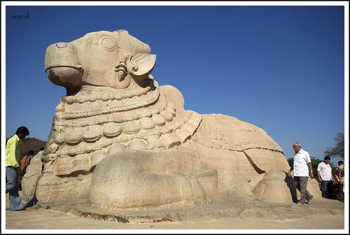 Nandi at Lepakshi