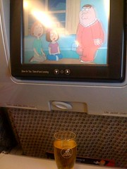 Family Guy & Beer @ Virgin Atlantic
