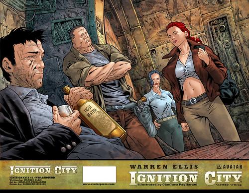Ignition City #2 (wraparound)